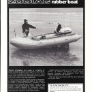 1970 Zodiac Mark II Rubber boat Ad- Nice Photo