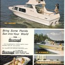1970 Sport- Craft Boats Color Ad- Nice Photos of 4 Models