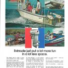 1972 Evinrude Outboard Motors Color Ad- Nice Photos
