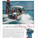 1956 Evinrude Outboard Motors Color Ad- Nice Photo