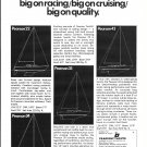 1968 Pearson Yachts Ad- Drawings of 4 Models