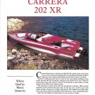 1992 Carrera 202 XR Boat Review & Specs- Nice Photos