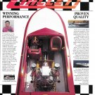 1992 Hallett 21' Vector Boat Color Ad- Nice Photo