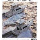 1993 Tiara Yachts Color Ad- Nice Photo of 4300 & 3600 Convertibles
