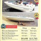 1993 Stingray Powerboats Color Ad- Nice Photo 556zp & 606zp- Hot Girls