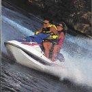 1993 Kawasaki Watercraft 2 Page Color Ad- Nice Photo