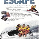1992 Yamaha WaveRunners Watercraft Color Ad- Nice Photo
