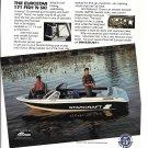 1992 Starcraft Eurostar 171 Fish 'N Ski Boat Color Ad- Nice Photo