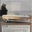 1992 Sea Ray 170 LTD Boat Color Ad- Nice Photo