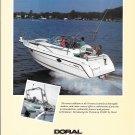 1992 Doral Prestancia 255MC Boat Color Ad- Nice Photo