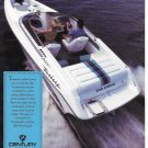 1992 Century 230 Arrow Bow Rider Boat Color Ad- Nice Photo- Hot Girl