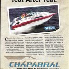 1992 Chaparral 2370 SL Boat Color Ad- Nice Photo