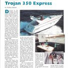 1994 Trojan 350 Express Review- Nice Photos