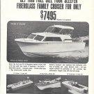 1968 Revline Boats Ad- Nice Photo of 24- 15- 17 & 18'