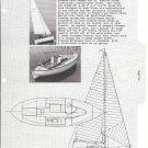 1965 Royal System Yacht Yard Ad- Nice Photo & Drawing of Sagitta