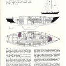 1983 Islander 48 Cruiser Review & Specs- Drawings