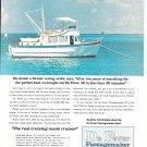 1973 De Fever Passagemaker 40 Yacht Ad- Nice Photo
