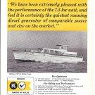 1965 Kohler Of Kohler Ad- Nice Photo of Matthews 53 Yacht