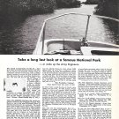 1965 Fisher- Pierce Boston Whaler Boats Ad- Photo of Everglades National Park