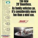 1996 Boston Whaler 20' Dauntless Boat Color Ad- Photo