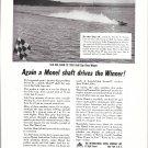 1953 International Nickel Ad- Photo Hydroplane Slo- Mo- Shun IV