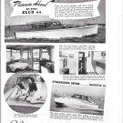 1941 Elco Cruisers Ad- Nice Photos of Elco 44 & Elcoette 32