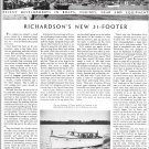 1940 Richardson 31' Yacht Review& Photo