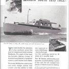 1949 Matthews 46 Sedan Yacht Ad- Nice Photo