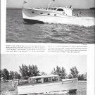 1941 Richardson 31' & Miami Shipbuilding 35' New Boats Ad- Nice Photos