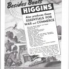 1943 Higgins Industries Ad- Drawing of Paratroopers