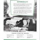 1948 Daytona Beach Boat Works Inc Ad- Nice Aerial Photo