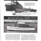 1944 WW II Anaconda Copper Ad- Photo of Owens War Boats & Pleasure