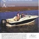 2007 Scout 222 Abaco Boat Color Ad- Nice Photo