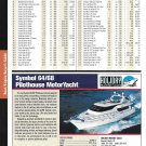 2004 Symbol 64/68 Pilothouse MotorYacht Color Ad- Specs & Photo
