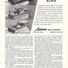 1968 Lyman Boat Works Ad- Nice Photo Cruisette- Express- Sleeper