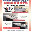 1996 White Marlin Marine Color Ad- Photos of Wellcraft 26-238-302 Boats