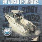 1996  Wahoo Boats Color Ad- Nice Photo of EFS 2600