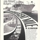 Old Burger 70' Yacht Ad- Nice Photo