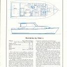 1967 Glen L Sorrento 36' Yacht Ad- Specs & Drawing