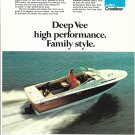 1974 AMF Crestliner 2455 Boat Color Ad- Nice Photo