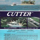 1974 Cutter Boats Color Ad- Nice Photo