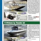 2009 Thunder Jet Denali & TJ Offshore New Boats Ad- Specs & Nice Photos