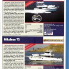 2009 Mikelson 43SF Zeus & 75 New Yachts Ad- Specs & Photos