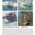 1975 Larson Boats Color Ad- Nice Photos