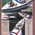 2002 Cole Performance Boats Color Ad- Nice Photo of 5 Models