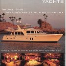 2007 Offshore Yachts Color Ad- Nice Photo of 76 MY