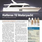 2007 Hatteras 72 Motoryacht Review- Drawing & Specs