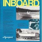1974 Aquasport 22-2 Inboard Boat Ad- Nice Photo