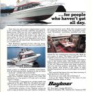 1978 Bayliner 2850 Bounty Yacht Color Ad- Nice Photo