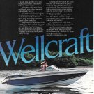 1983 Wellcraft 200 Elite Boat Color Ad- Nice Photo